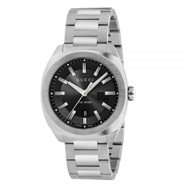 38fedc2cb03 Gucci G-Timeless GG2570 Black Dial Watch from Steffans Jewellers