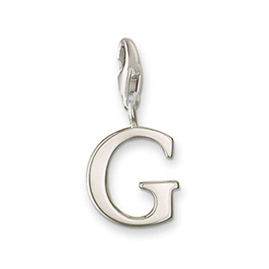 Thomas Sabo Sterling Silver Letter G Charm