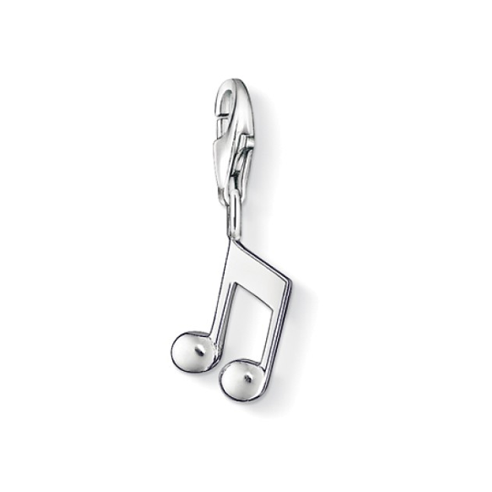 Thomas Sabo Sterling Silver Musical Note Charm