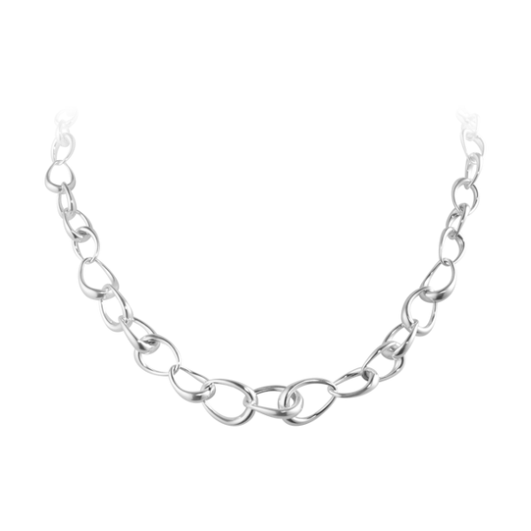 Georg Jensen Offspring Interlocking Necklace