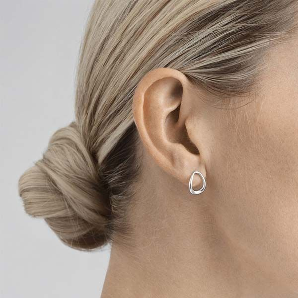 Georg Jensen OFFSPRING Earstuds 433B Silver