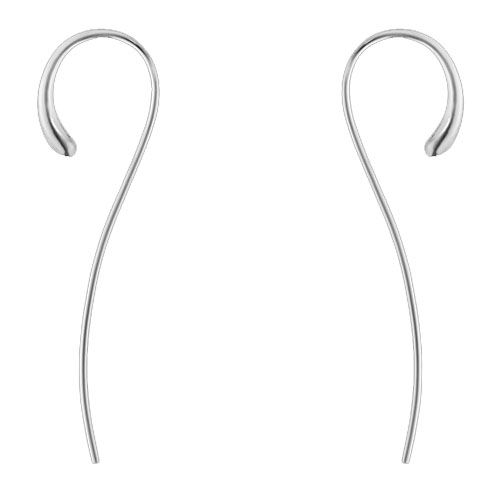 Georg Jensen Sterling Silver Mercy Modern Pendant Earrings