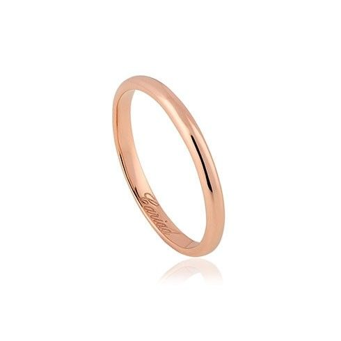 Clogau Windsor 18ct Rose Gold Wedding Ring (2mm)