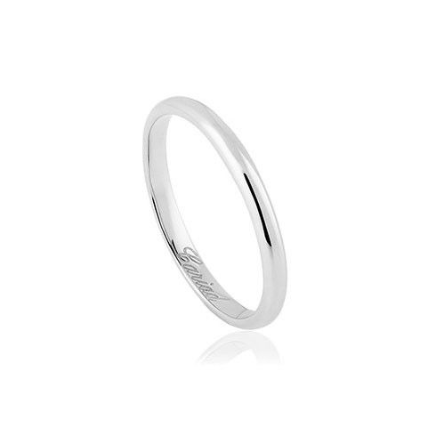 Clogau Windsor 18ct White Gold Wedding Ring (2mm)