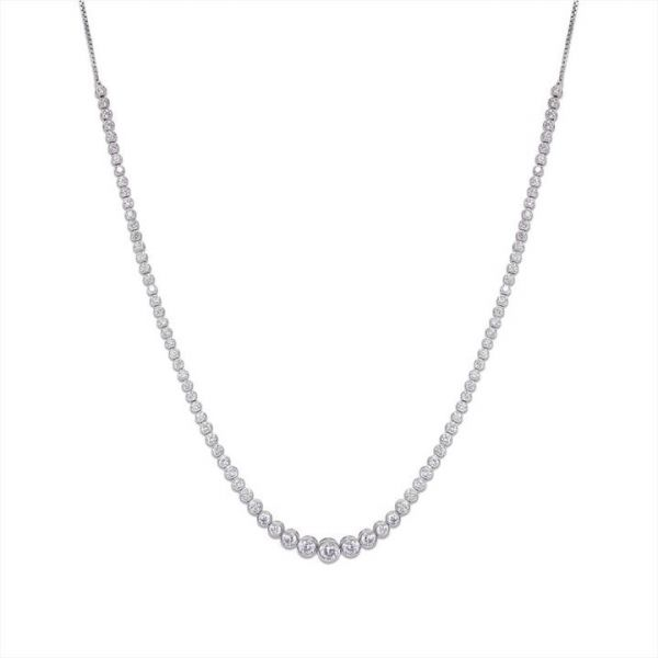 CARAT* London Sterling Silver Quentin Necklace