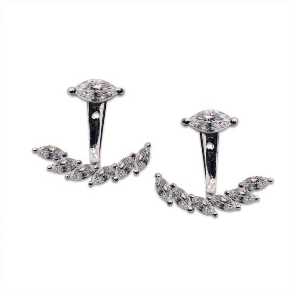 CARAT* London Sterling Silver Lana Ear Jackets