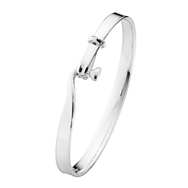 Georg Jensen Sterling Silver Torun Bangle