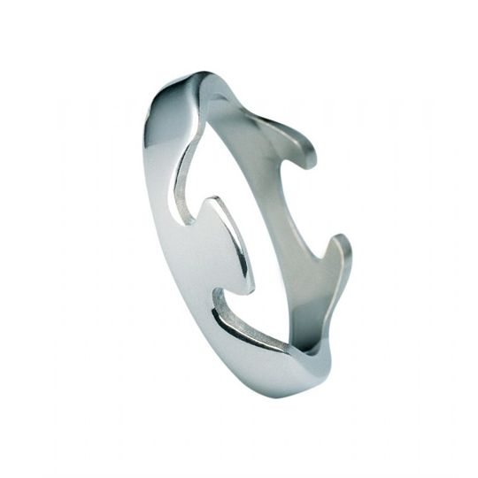 Georg Jensen FUSION End Ring 1367A White Gold, 56