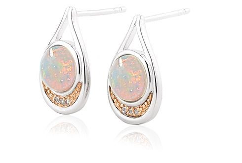 Clogau Serenade Opal Drop Earrings (3SEMPE2)