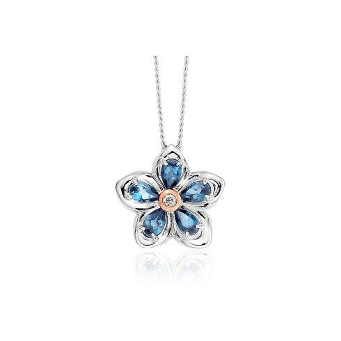 Clogau Forget Me Not Pendant