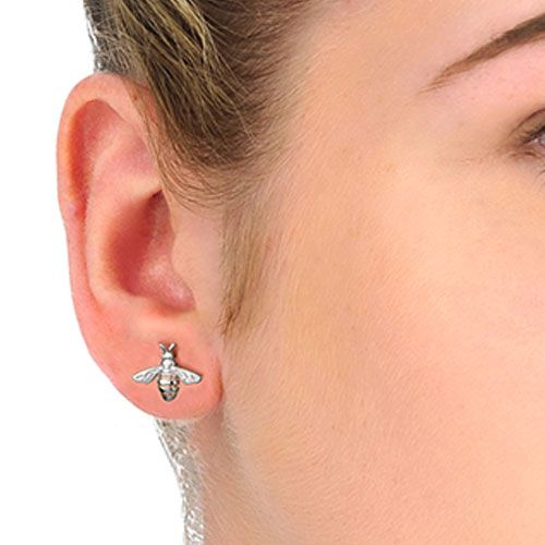 Clogau Honey Bee Earrings