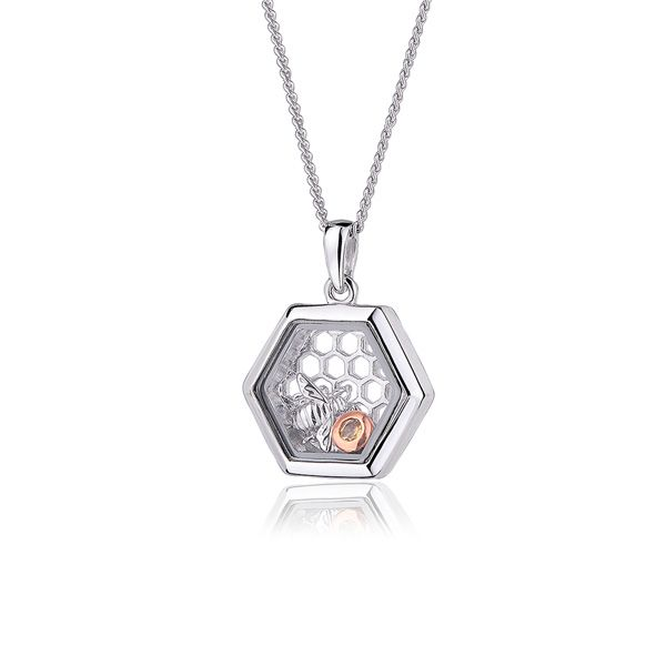 Clogau Honey Bee Inner Charm Pendant