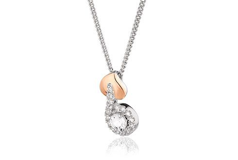 Clogau Tree of Life Vine Pendant with Silver Chain