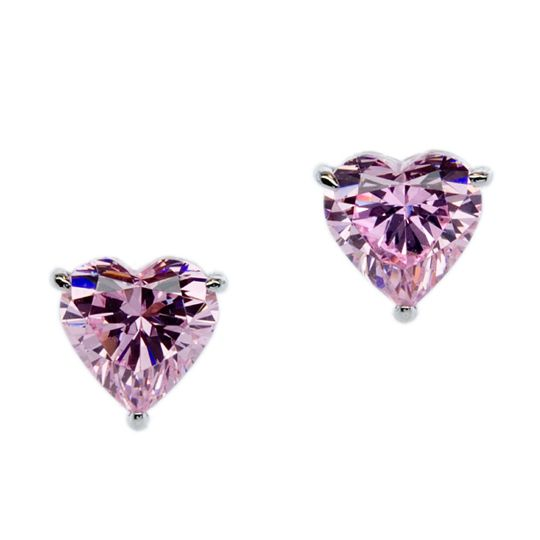 CARAT* London Pink Hearts for You Earrings