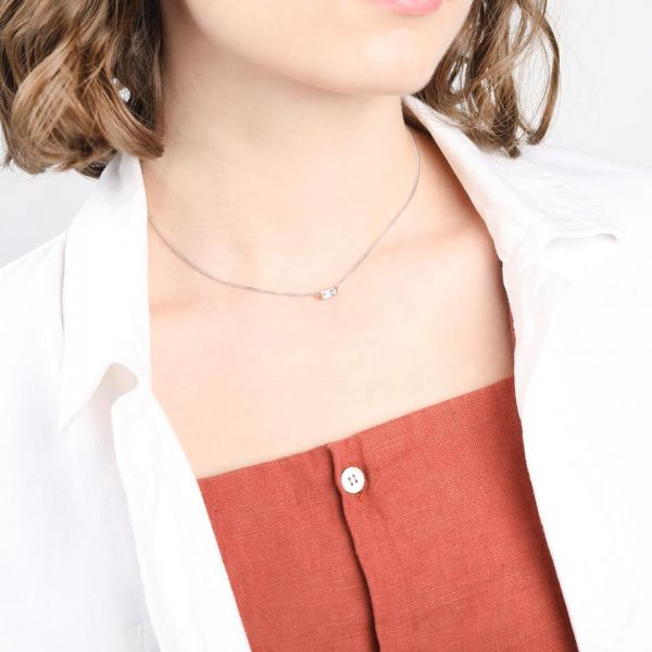 Laura Vann Agata Gold Short Choker Necklace