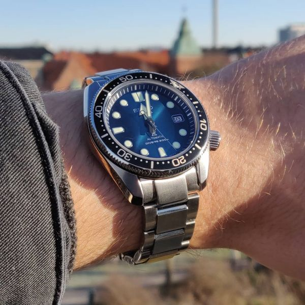 Seiko Prospex Special Edition Great Blue Hole Automatic Diver Watch