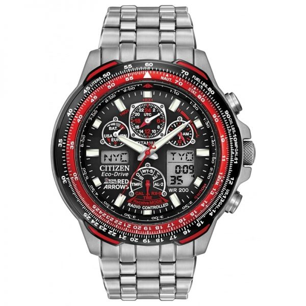 Citizen Gents Red Arrows Skyhawk A-T Titanium Eco-Drive Watch