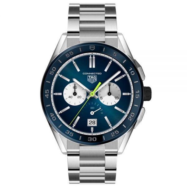TAG Heuer Connected - Ceramic & Steel Strap Blue Men's Watch
