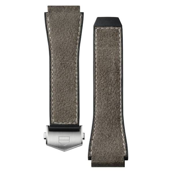 TAG Heuer Connected Strap - Brown Leather Strap