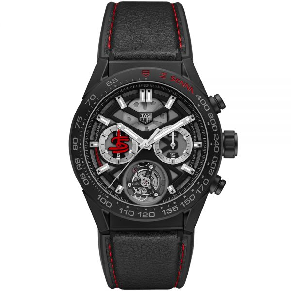 TAG Heuer Senna Special Edition Carrera 02T Watch