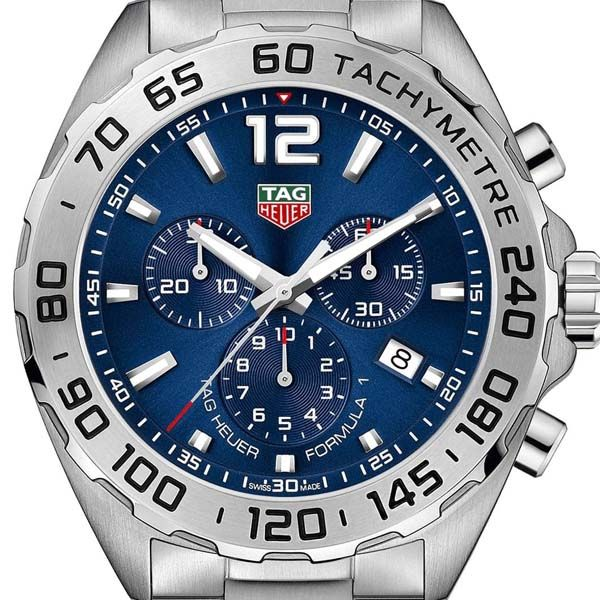 TAG Heuer Men's Blue Dial Formula 1 Chronograph Watch