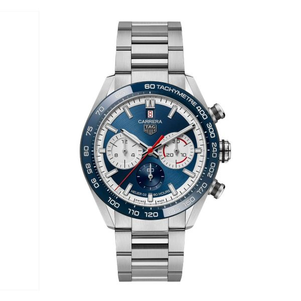 TAG Heuer Carrera 160th Anniversary Limited Edition Blue 44mm Mens Watch