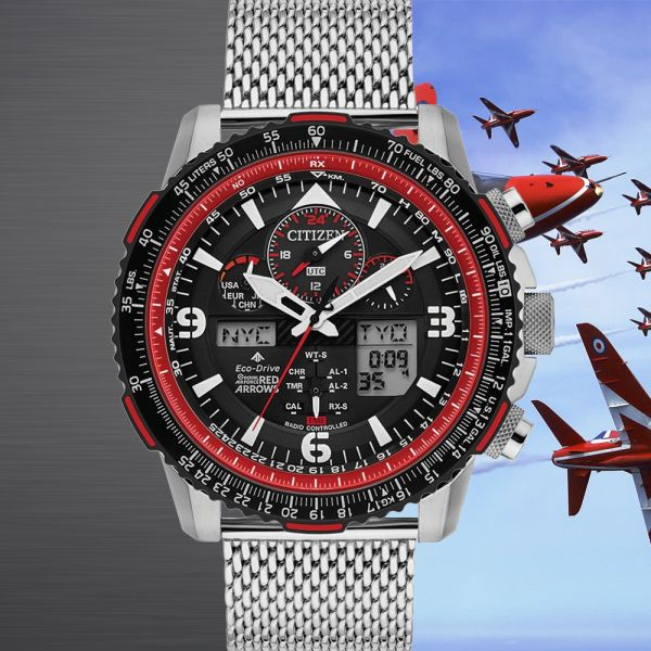 Citizen Men's Promaster Limited Edition Red Arrows Skyhawk A-T Eco-Drive Watch