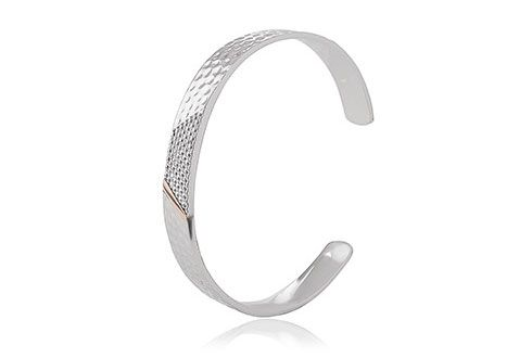 Clogau Mens Welsh Dragon Scale Bangle (3SDSBG)