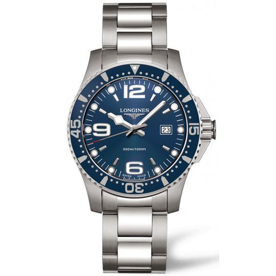 Longines Blue Dial HydroConquest Watch