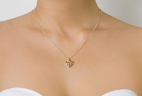 Clogau 9ct Gold Eternal Love Pendant