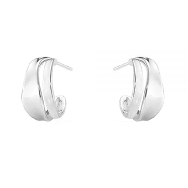 Georg Jensen Sterling Silver Marcia Earrings (3539343)