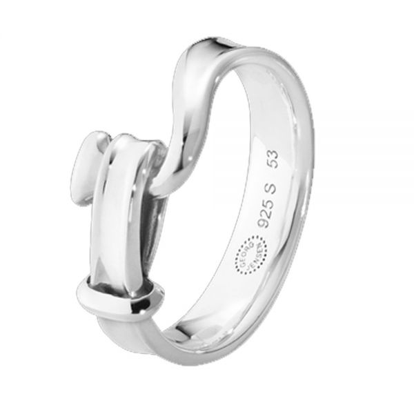 Georg Jensen Sterling Silver Men's Torun Ring (3560760)