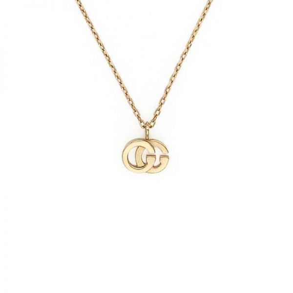 Gucci GG 18ct Yellow Gold Topaz Necklace