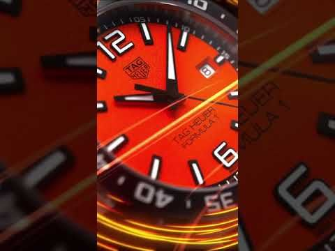 TAG Heuer Formula 1 Limited Edition 43mm Orange Dial Men's Watch