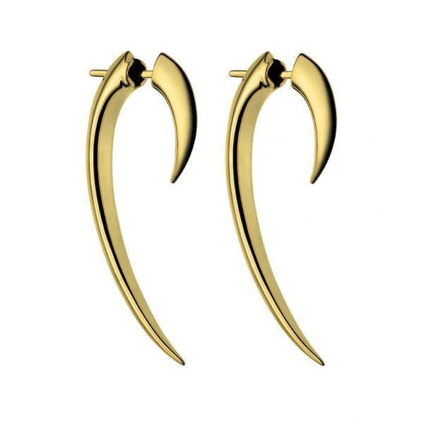 Shaun Leane Silver and Gold Plated Size 1 Hook Earrings