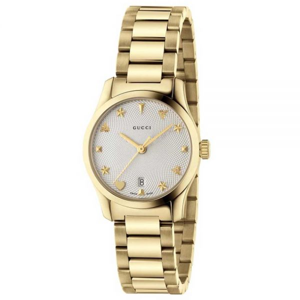 Gucci G-Timeless Yellow Gold Watch