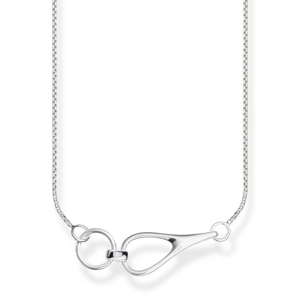 Thomas Sabo Sterling Silver Heritage Necklace