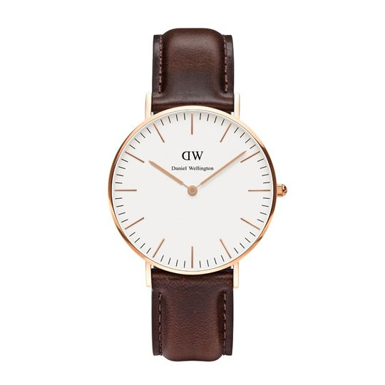 Daniel Wellington Ladies Classic Bristol Rose Gold Watch
