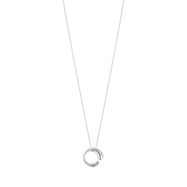 Georg Jensen Sterling Silver Small Mercy Pendant with Silver Chain
