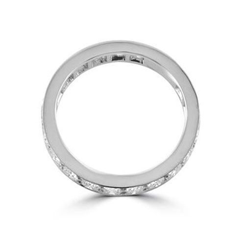 Steffans RBC Diamond Grain Set Platinum Full Eternity Ring (1.70ct)