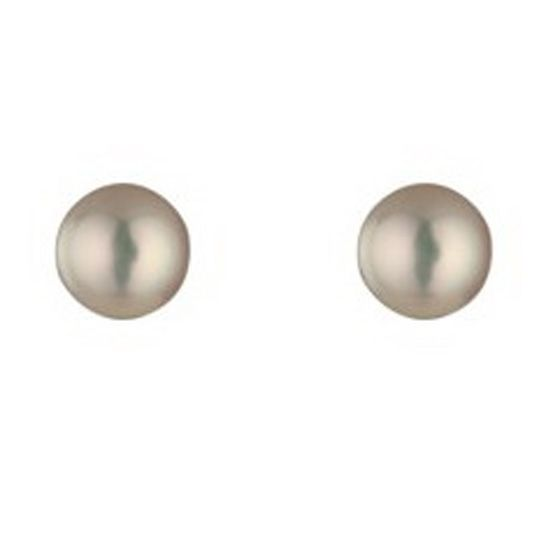 9ct Yellow Gold June Pearl Stud Earrings GE1107WPL