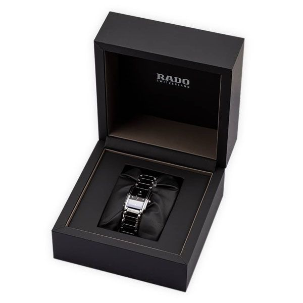 Rado Womens Integral Black & Silver Watch