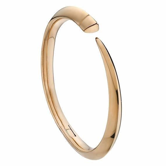 Shaun Leane Rose Gold Vermeil Tusk Bangle