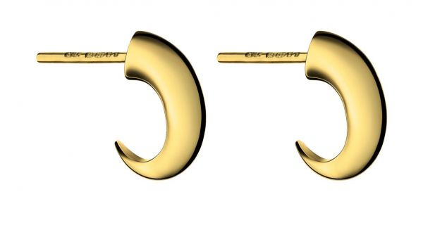 Shaun Leane Small Cat Claw Gold Earrings
