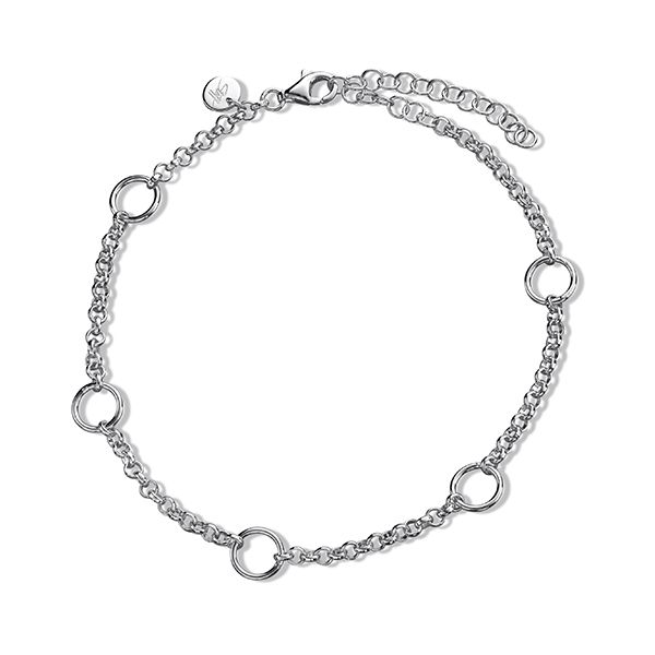 Steff Mix & Match Sterling Silver Anklet