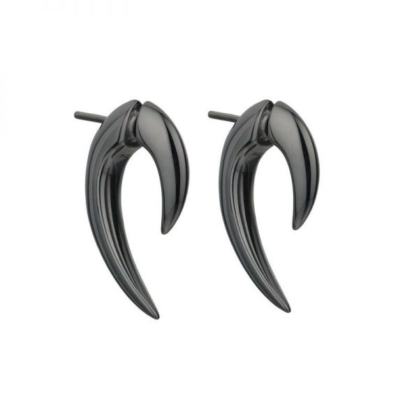 Shaun Leane Black Rhodium Plated Talon Earrings