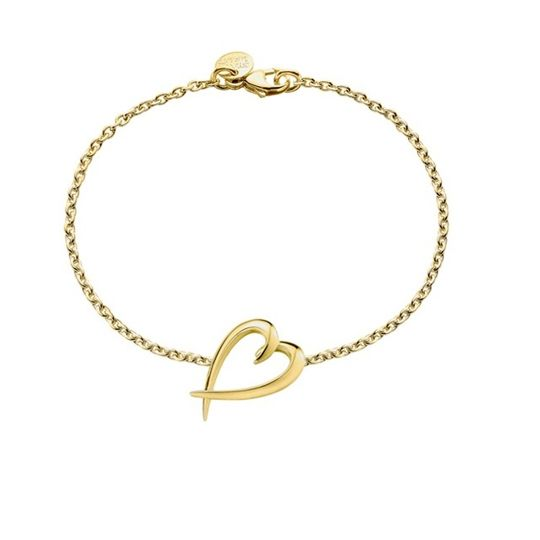 Shaun Leane Yellow Gold Plated Signature Heart Bracelet