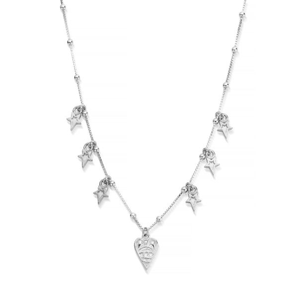 ChloBo Sterling Silver 7 Days Of Luck Necklace