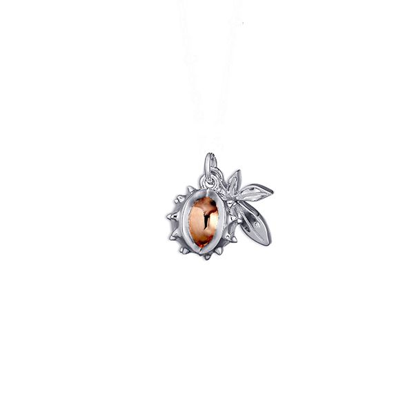 Steff Wildwood Conker and Horse Chestnut Leaf Charm