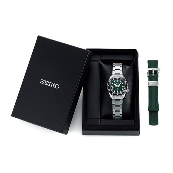 "Seiko Prospex ""Island Green"" 1968 Recreation Divers' Mens Watch"